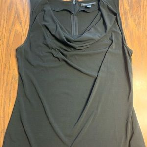 Banana Republic Black sleeveless blouse